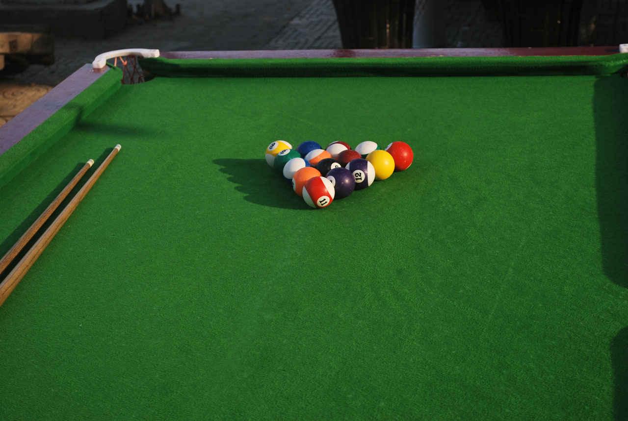 8 Ball Billiards Fabric Eight